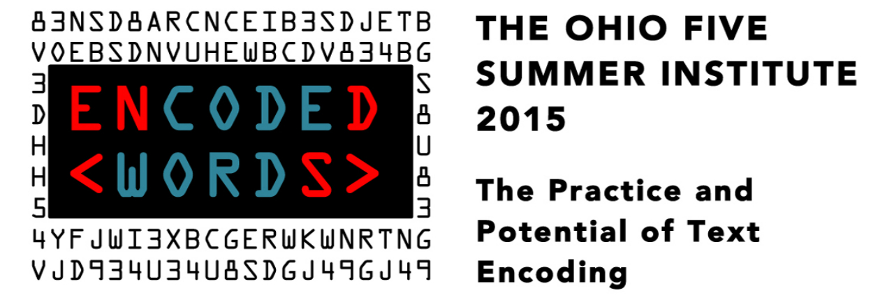 Ohio Five Summer Institute 2015
