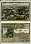 Souvenir Folder Postcard of The College of Wooster Campus