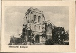 The University of Wooster Souvenir Post Card - Memorial Chapel