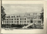 The University of Wooster Souvenir Post Card - Holden Hall