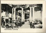 The University of Wooster Souvenir Post Card - University Library Inside