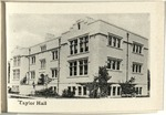 The University of Wooster Souvenir Post Card - Taylor Hall