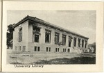 The University of Wooster Souvenir Post Card - University Library Outside
