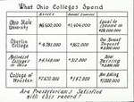Mission slide on College Expenditure in Ohio