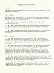 Campus Council Memorandum 1971
