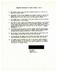 Operating Procedures for Campus Council 1970-71