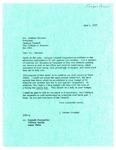 Letter Regarding Budget Increases 1977