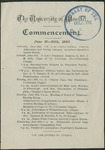 Commencement 1883 The College of Wooster
