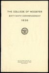 Commencement 1936 The College of Wooster
