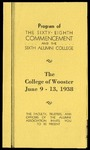 Program of The Sixty-Eighth Commencement and the Sixth Alumni College