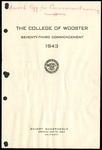 The College of Wooster Seventy-Third Commencement