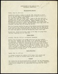 Announcement to the Class of 1948 Concerning Commencement