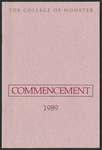 Commencement 1989 The College of Wooster