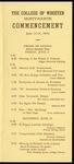 Schedule of Events 1954