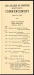 Schedule of Events 1956