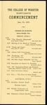 Schedule of Events 1959