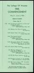 Schedule of Events 1968