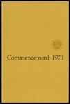 Commencement 1971 The College of Wooster