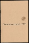 Commencement 1978 The College of Wooster