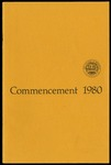 Commencement 1980 The College of Wooster
