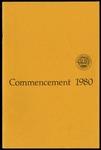 Commencement 1980