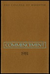 Commencement 1981 The College of Wooster