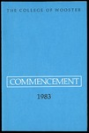 Commencement 1983 The College of Wooster