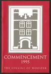 Commencement 1995 The College of Wooster