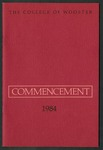 Commencement 1984 The College of Wooster
