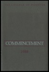 Commencement 1988 The College of Wooster