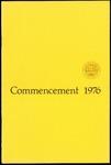 Commencement 1976