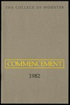 The College of Wooster Commencement 1982
