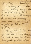 Letter from Oberammergau, 1945 November 22
