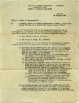 Recommendation for Discharge, 1946 January 24