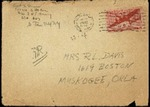 Letter from Munich and Flims, 1946 March 13