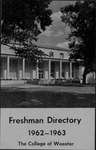 New Student Directory, 1962-1963