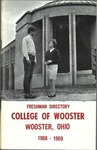 New Student Directory, 1968-1969