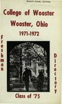 New Student Directory, 1971-1972
