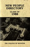 New Student Directory, 1984-1985
