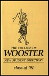 New Student Directory, 1990-1991