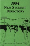 New Student Directory, 1994-1995