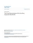 Tree Ring Dating Analysis of the Scot Barn, Somerset, Ohio 43783