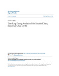 Tree Ring Dating Analysis of the Rouskoff Barn, Somerset, Ohio 43783