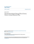 Dendrochronological dating of Perry County District Library, Somerset, Ohio