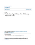 Dendrochronological Dating of the Old Rectory, Worthington, Ohio