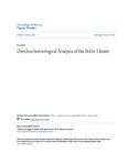 Dendrochronological Analysis of the Bixler House