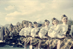 The Drum Majorettes by Lee Lybarger