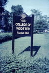 C of W Sign - Title of the Wooster Series by Lee Lybarger
