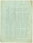 Letter from Mary to Mother- October 1, 1924