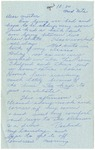 Letter from Mary to Mother- 10:00 Wed Nite, circa 1926